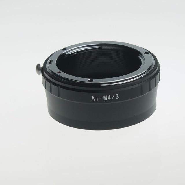 Ai-m4/3 del anillo adaptador de lente para nikon f ai lente af para micro 4/3 M4/3 para G1 G2 G3 G6 G10 GH1 GH2 GF1 GF2