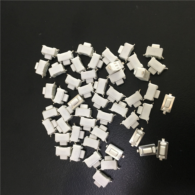 50PC YT2030Y 3*6*5 5.0H white Touch Switch SMD Button 3 * 6 * 5mm feet Mini Micro Switch little Press 2 two Feet Pin On Sale цена