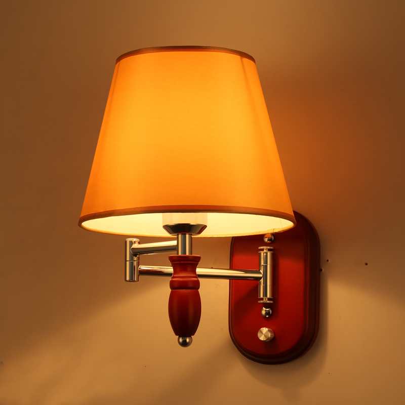 Aisle Stairs LED Wall Lamps Wooden Wall Mount Light Sconce Restaurant Bedroom Decorative Wall Lights Lamparas Home Lighting