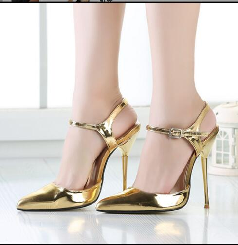 ФОТО Beautiful shoes stiletto high heels various color for your selection  buckle strap closure type  sexy pointed woman shoes
