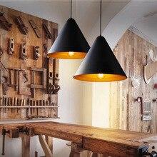 Современная Nordic Цоколем e27 Подвесные Светильники 110 В ~ 220 В Для Декора Висит Черный Белый Абажур Светильник