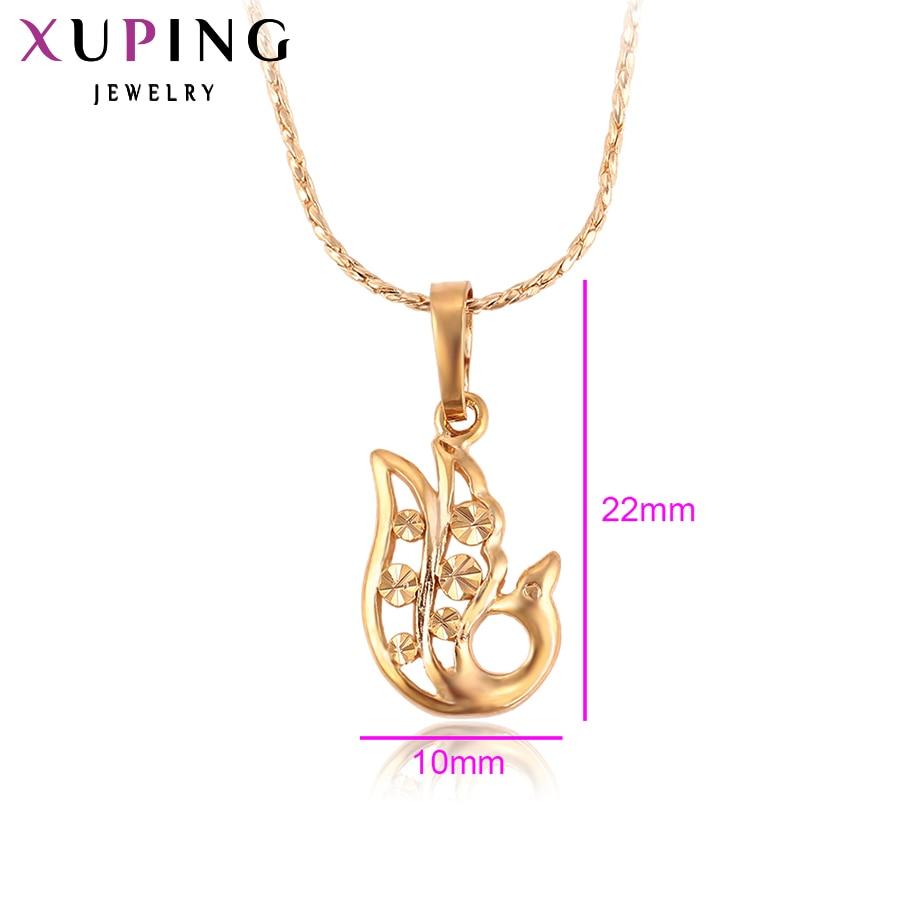 Xuping Pendant Special Design Guldfärgplatta Vackra och mode smycken - Märkessmycken - Foto 2