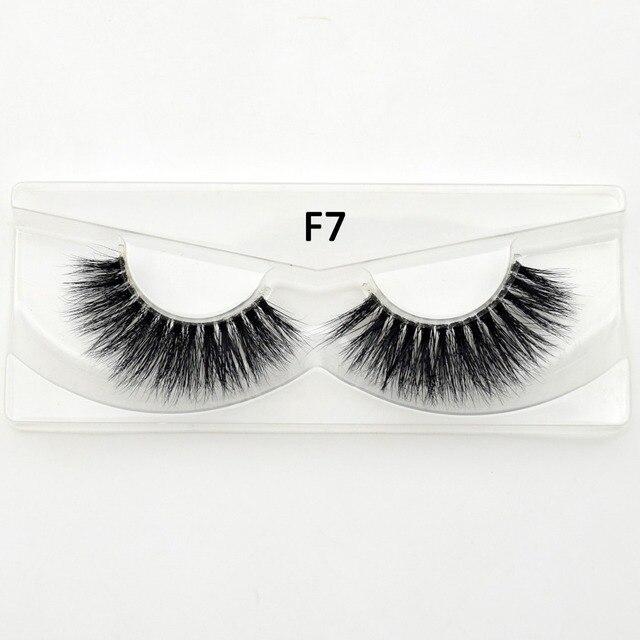 Visofree Mink Eyelashes Invisible Band Lashes Natural 3D Mink False Eyelash Full Strip Transparent band lashes cilios posticos 1