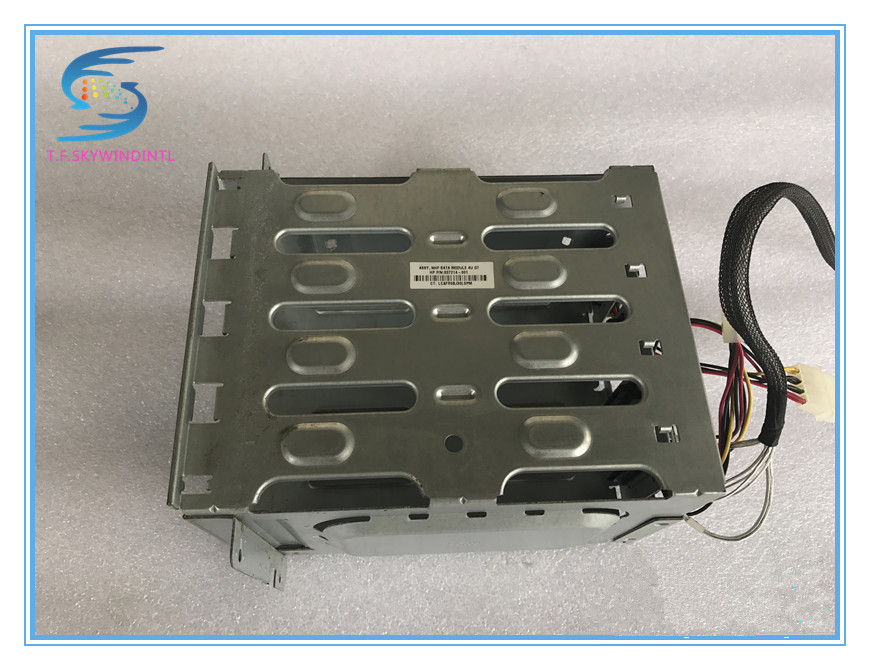 free ship ,3.5' hard disk cage 637214-001 4U Non Hot-Plug Hard Drive Cage ML110G7 free ship server hard disk drive mas3735np 15000rpm 15k 73g 68pin scsi server hdd