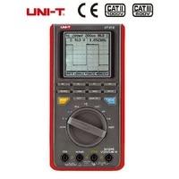 UNI T UT81B Ручной ЖК дисплей осциллографы мультиметры осциллограф 8 мГц 40 мс/с реальном времени Частота дискретизации цифровой Мультиметры с USB
