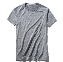 2019 Новая летняя мужская быстросохнущая Спортивная футболка для бега LULI2