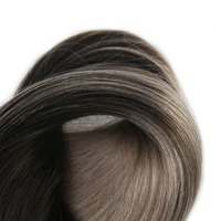 Full Shine Customized Order 1B/18 Nano Tip Remy Hair Extensions 100% Real Human Hair 1g Per Strand 120 Grams