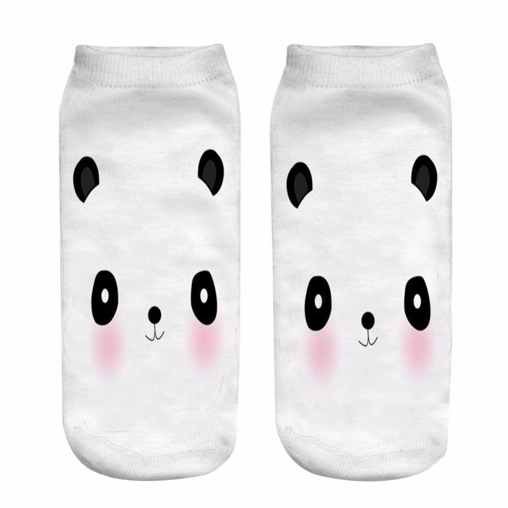 Lovely Hosiery Socks Panda Printing Ankle China Sock for Men Women Low Cut Ankle Socks Hot Drop Shipping Instore
