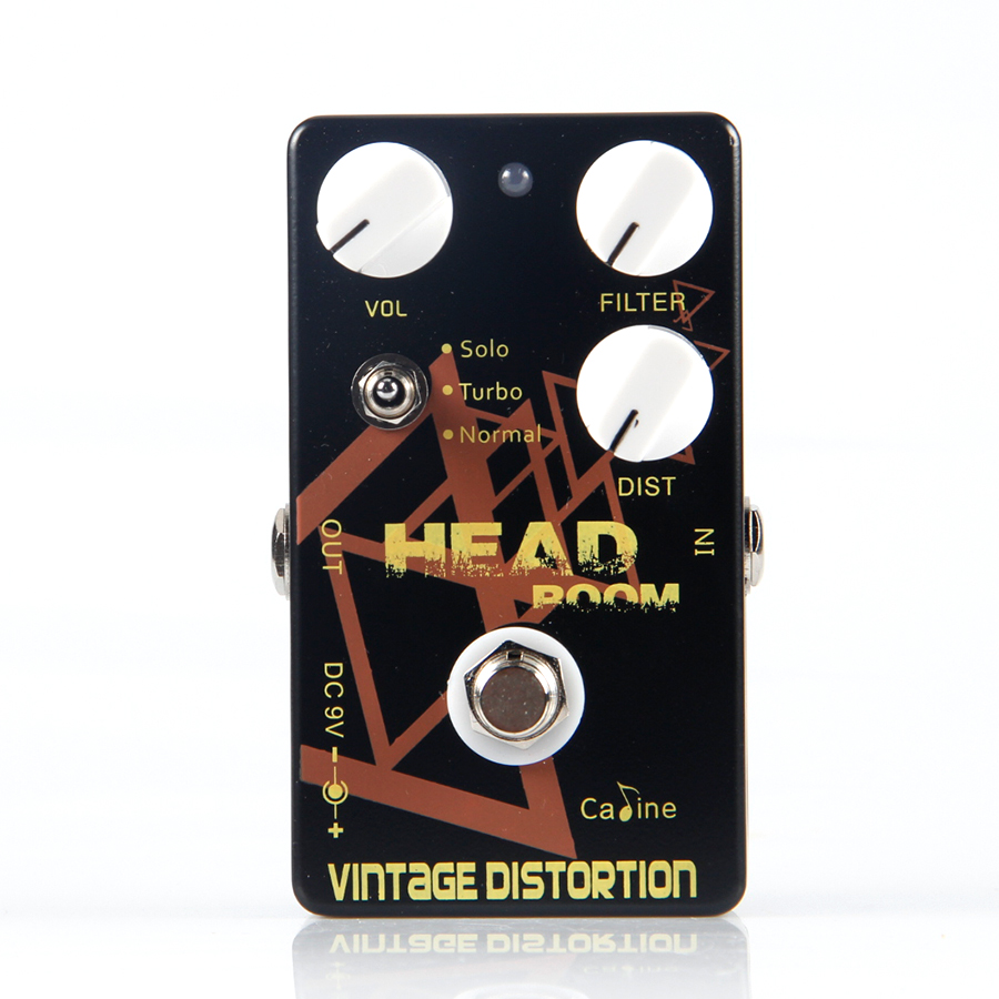 Caline Head Room Vintage Distortion CP-34 Guitar Effects Pedal for Electric/Acoustic/Bass Guitarra Effect Guitar Accessories caline cp 35 ac simulated guitar effects pedals with true bypass acoustic effects guitars and caline cp 03 noise filter