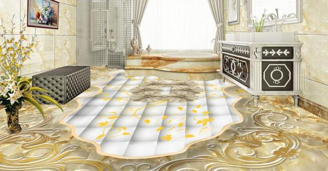 new women 2017 european style 3d flooring custom self adhesive wallpaper  Stone relief rose soft bag 3d flooring photo wallpaper b1c349bf46