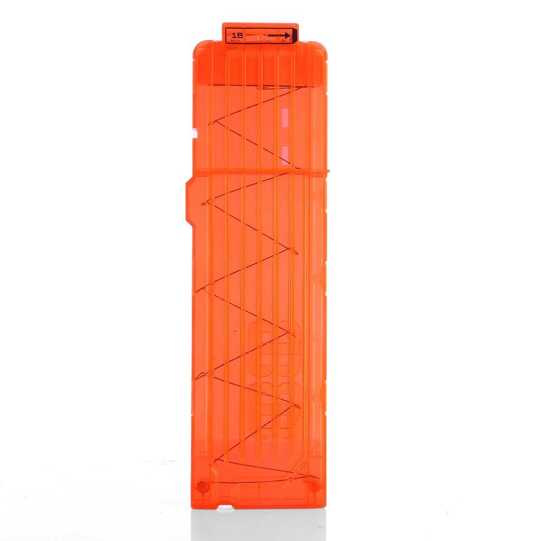 NFSTRIKE 3 шт. мягкие обоймы для патронов журнал для игрушечный пистолет Nerf 18 патронов Дартс для игрушечный пистолет Nerf зажимы оранжевый 2018