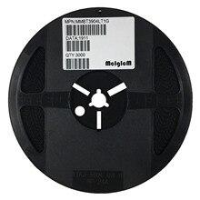 MCIGICM 3000pcs MMBT3904 트랜지스터 NPN 40V 200mA SOT 23 3 SMD 2N3904 3904