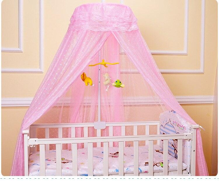 Baby Crib Netting Canopy Bed Mosquito Net Breathable Insect Mosquito Net for Baby Crib Bed Canopy