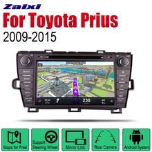 ZaiXi Auto DVD Player GPS Navigation For Toyota Prius 2009~2015 Car Android Multimedia System Screen Radio Stereo