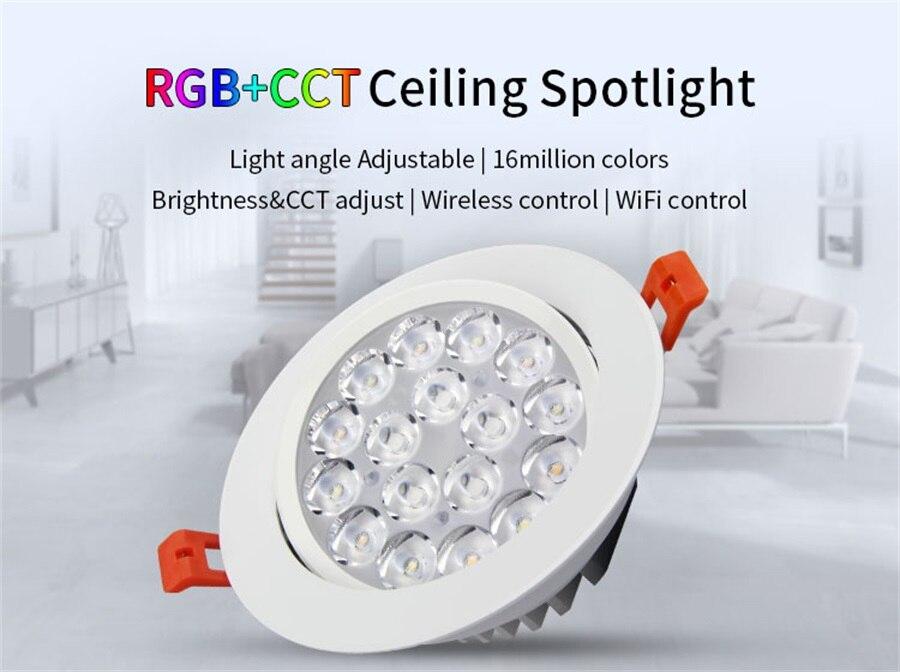 teto redondo spotlight AC86-265V fut062 fut089 fut092