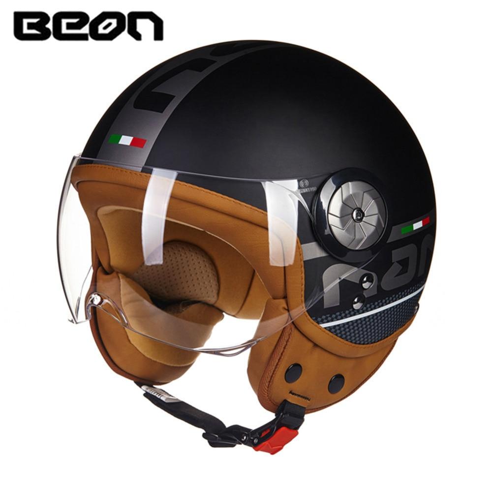 Brand New ECE Motorcycle Helmet Chopper 3/4 Open Face Vintage Helmet 110TM Moto Casque Casco motocicleta Capacete Unisex helmets недорго, оригинальная цена