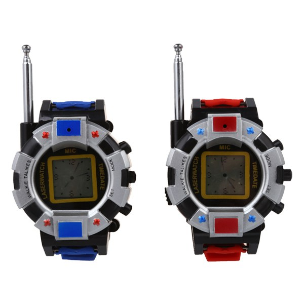 HOT SALE 2PC Children Toy Walkie Talkie Child Wrist Watches Interphone Outdoor