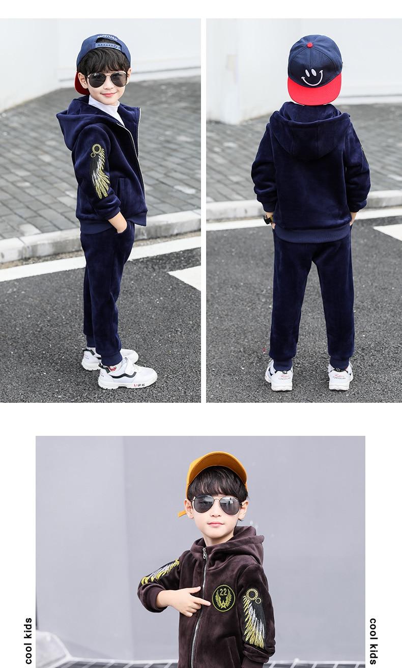 ac87c5e7560b3 2019 Children Clothing Set Baby's Sets Children's Kids Autumn Boy Outfit  Sports Suit Set Boys Set Child Suit Clothes - aliexpress.com - imall.com