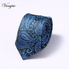 Printed Blue/Black/Red 6cm silk Ties Mens Fashion Necktie Casual Suit Wedding party Skinny Neck Tie Party Slim Gravatas