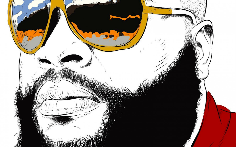 Home Decor Stores In Chicago Aliexpress Com Buy Music Rick Ross Gangsta Rapper Rap