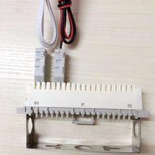 Cable de prueba de módulo de voz para Panel de conexiones de telecomunicaciones, Clip de cocodrilo de cabeza 110, RJ11