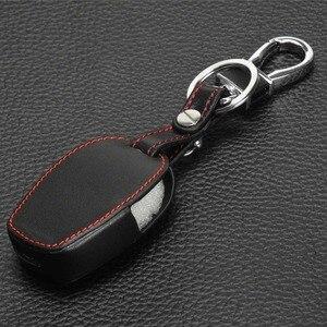 Image 4 - Jingyuqin Della Copertura del Cuoio Per Nissan Almera Renault Clio Dacia Logan Megane Espace Kangoo Spolverino Twingo 2BTN Auto Caso Chiave A Distanza