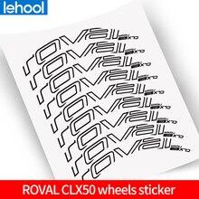 ROVAl CLX50 Laufradsatz Aufkleber für rennrad 700C fahrrad roval Carbon Klammer aufkleber anzug für 50mm tiefe zwei räder decals