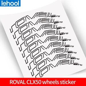 Image 1 - Roval CLX50 Wheelset Dán cho xe đạp Đường Bộ 700C xe đạp Roval Carbon Clincher decal phù hợp với cho 50mm độ sâu 2 bánh xe đề can