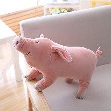 Miaoowa 1 шт. 25 см стильная футболка с изображением персонажей видеоигр свинья плюшевая игрушка мягкая игрушка в виде животного, свинки кукла в подарок детям Детские игрушки Kawaii подарок для девочек