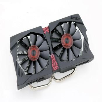 New for ASUS GTX 750ti cooling fan heatsink radiator cooling fan gtx950 graphics card