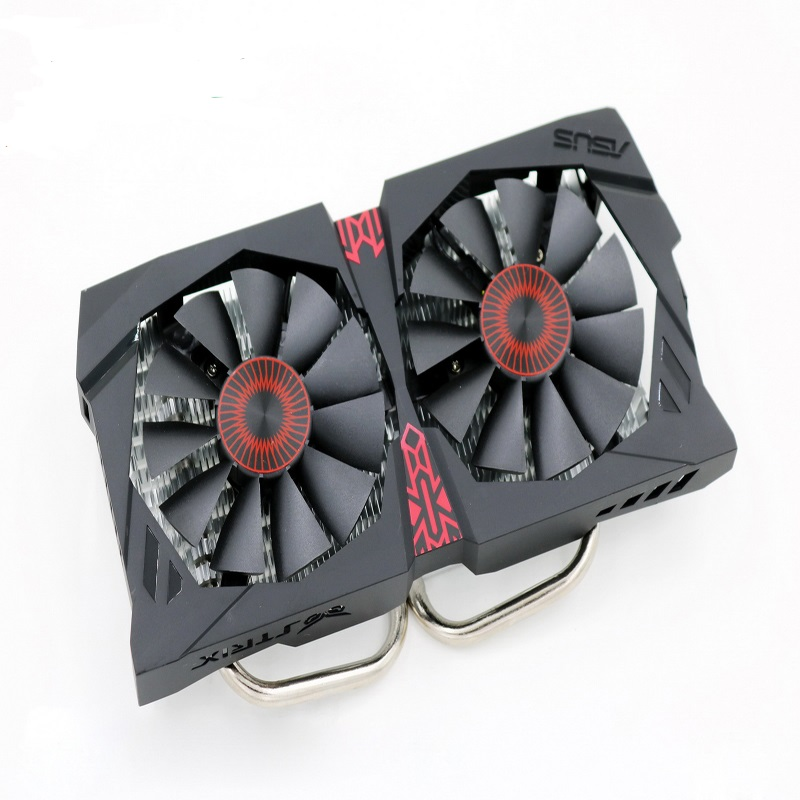 New For ASUS GTX 750ti Cooling Fan Heatsink Radiator Cooling Fan Gtx950 Graphics Card