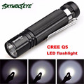 Super 7W CREE Q5 LED 1200lm Mini Flashlight Torch Light 14500/AA Lamp Waterproof