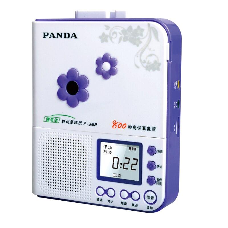 Панда f-362 повторителя магнитофон рекордер Английский машинного обучения литиевая аккумуляторная батарея