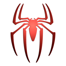 3pcs Super Hero Spider Man Spider-Man Luxury Mobile Phone Laptop Sticker Car Motorcycle Decal DIY 3D Metal Stickers Toy
