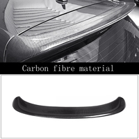 Car Styling Carbon Fiber Rear Spoiler Tail Trunk Lip GT Wing Decoration Auto Part 1Pcs For