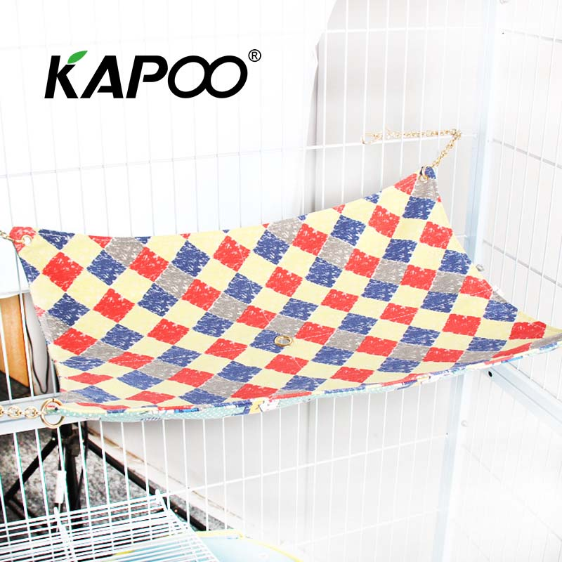 Medium Pet Baby Cat Hammock 50*40cm High Quality Pet Hammock Dog Hammock Swing Chair Pet Soft Home Leisure Hammock Gift For Pet ...