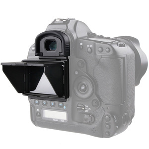 Image 4 - 2in1 lcdスクリーンプロテクターポップアップ太陽シェードフードカバーキヤノン1dx/1dxマークii
