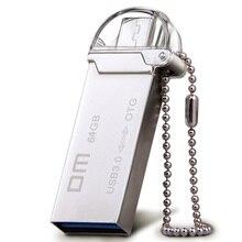 DM PD009 USB Flash Drive, 32GB Metal OTG Pendrive High Speed USB Memory Stick 16GB pen Drive Real Capacity USB 3.0 Flash U disk