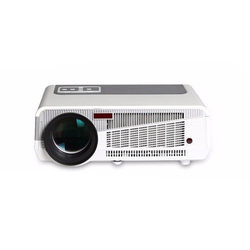 Идеальный светодиодный проектор, встроенный в andorid 4,42 Full HD 5500 люмен с HMDI USB TV проектор для домашнего кинотеатра - 2