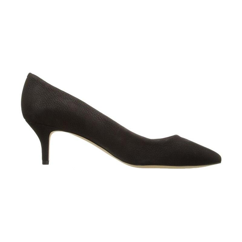 Bassiriana Mince 2018 Fabriqués En Cuir La Pompes Robe Femmes Fsj01 Travail À Femme Pointu Main Laides Haute Classique Bout 41 Noir Talons Fsj Chaussures 4RLA35j