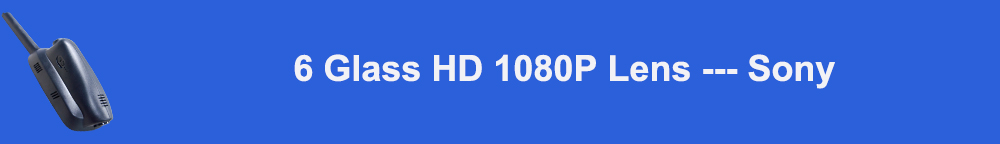 6 Glass HD 1080P Lens --- Sony