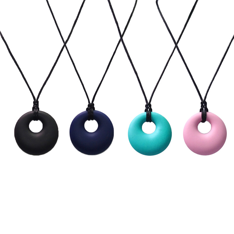 SALE Teething Necklace Baby Teething BPA FREE Silicone Necklace for Mum