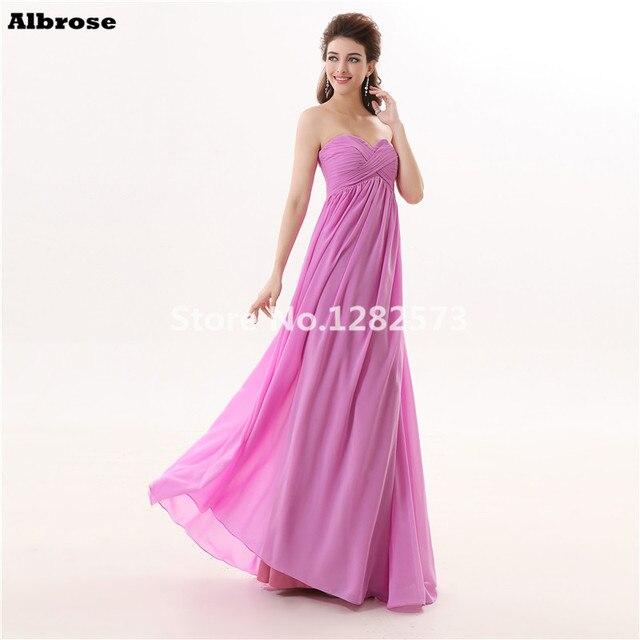 Vestido de noche largo barato – Los vestidos elegantes son populares ...