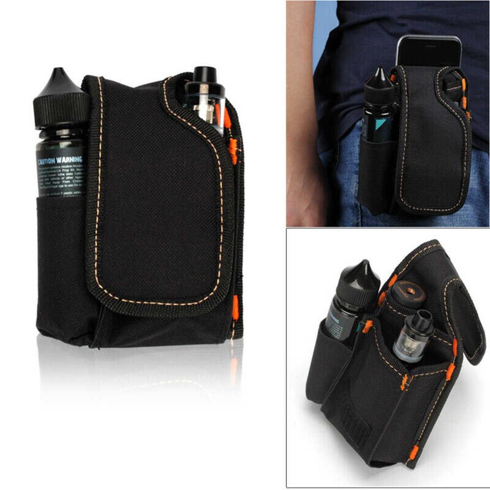2019 novo cigarro eletrônico denim bobina de bolso portátil pai mestre saco vape cigarro rda caixa mod bateria saco cintura