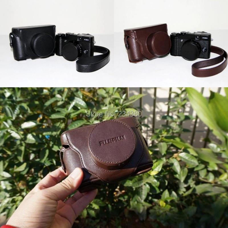 Leather camera Case bag Shoulder Strap LC-X100S LC-X100 Finepix X100S X100 Fujifilm