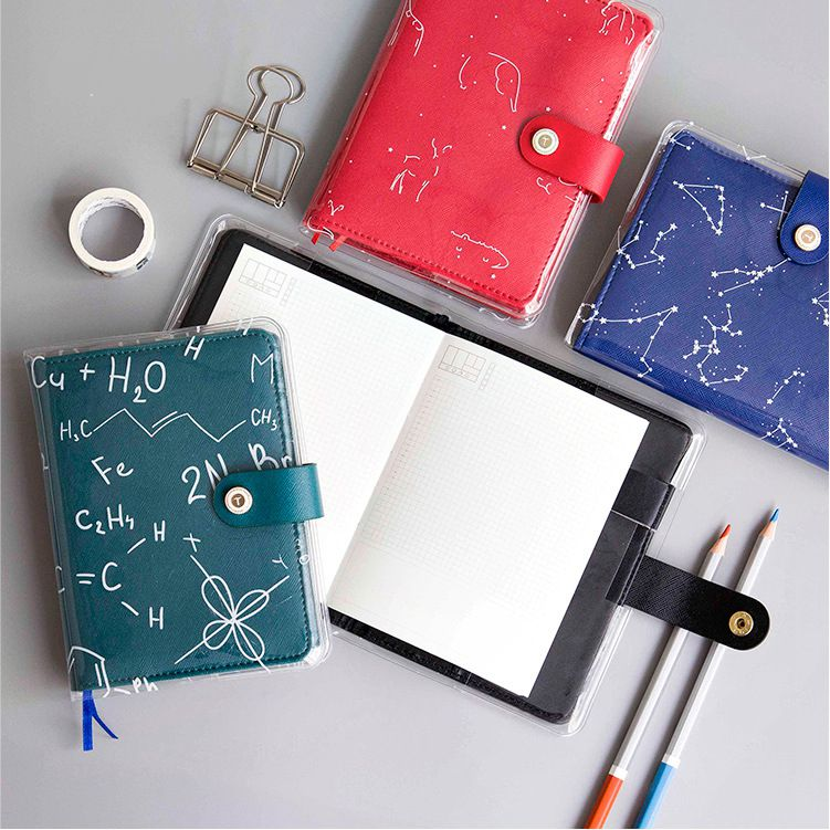 Creative A6 Journal Planner Book Weekly+Monthly+Daily Page+Blank Paper PU Leather Diary Notebook Gift Free Shipping kupo vf 01 page 6