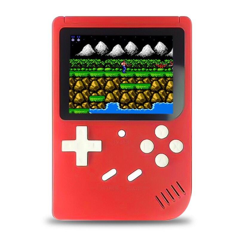 WOLSEN 2.8 inch GB-40 Retro Mini Handheld Portable Console Video game console mini tv retro FC game built in 300 games