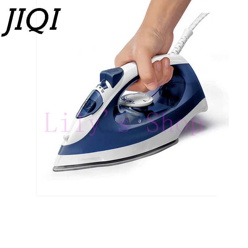 JIQI High-power electric garment steamer household dry Clothes Ironing machine handheld spray steam cloth irons 5 gears Flatiron household garment steamer 1 6l handheld clothes steamer vertical steam ironing machine ls 708d
