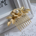 Pearl Hair Comb Bridal Accessories hair jewelry wedding  Valentine's Day Gift Trendy Women Headpieces Headwear