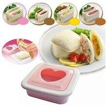 Sandwich Mold Love Heart-shaped Bread Toast Making Cutter Sandwiches Maker Tool Kitchen Gadget